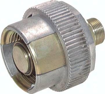 Hydraulik-Abreißkupplung, Loshälfte, 22 L