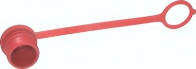 Staubschutz für Stecker Schraubkupplung, Baugröße 2