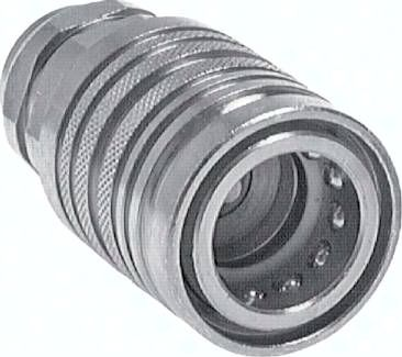 Steckkupplung ISO7241-1A, Muffe Baugr.3, M 22 x 1,5(IG)