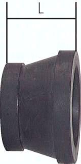 Ersatzdichtung Sandstrahl-kupplung 19,0x44,0x27,0mm