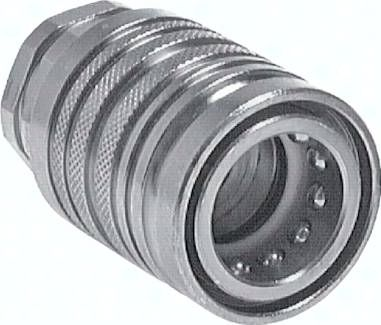 Steckkupplung ISO7241-1A, Muffe Baugr.6, 28 L