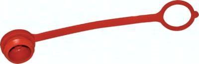 Staubschutz für Stecker Rohrleitungskupplung, Baugr.6