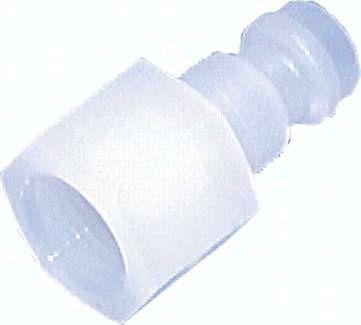 "Kupplungsstecker (NW5) G 1/4"" (IG), PVDF"