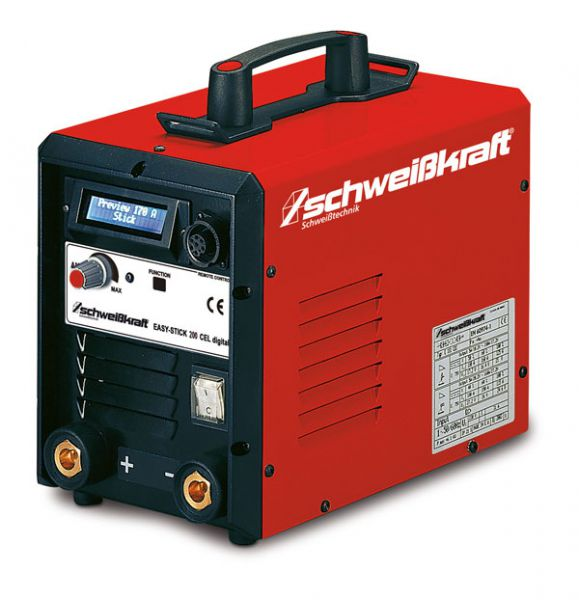 Schweißkraft 1087220 EASY-STICK 200 CEL Digital