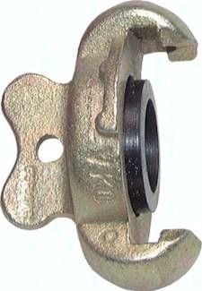 Kompressorkupplungsverschluss, 10 bar Temperguss verzinkt