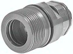 Hydraulik-Schraubkupplung, Muffe Baugr.6, 18 L