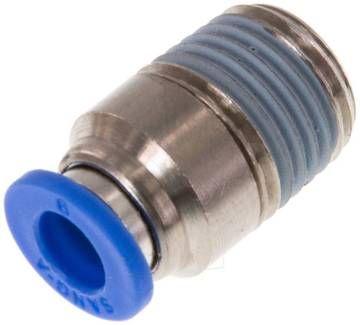 IQS L IQS Steckverschraubung mittellang mit zylindrischem Au/ßengewinde G 1//8-8 mm Standard
