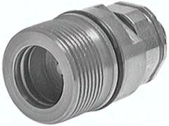 Hydraulik-Schraubkupplung, Muffe Baugr.4, 18 L