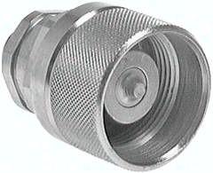 Hydraulik-Schraubkupplung, Stecker Baugr.4, 15 L