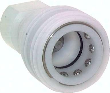 "Kupplung ISO 7241-1B, Muffe, G 1/2""(IG), POM"