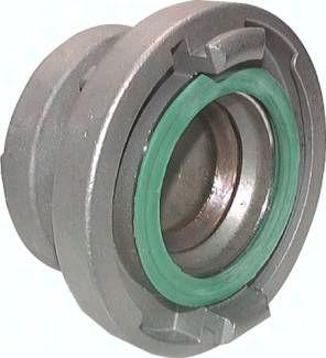 geschmiedet Storz-Blindkupplung 25-D 31mm Aluminium Werkstoff:Aluminium geschmiedet