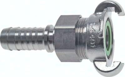 """Sicherheits-Kompressorkuppl. 25 (1"""") mm Schlauch"""