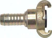 """Kompressorkupplung 25 (1"""") mm Schlauch, drehbar"""