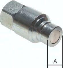 """CEJN-Flat-Face-Kupplung ISO 16028, Stecker Baugr.2, G 3/8"""""""