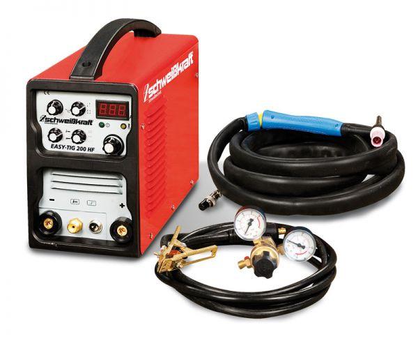 Schweißkraft 1080220SET EASY-TIG 200 HF SET