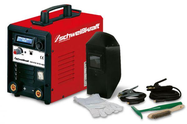 Schweißkraft 1087220SET EASY-STICK 200 CEL Digital Aktions-Set