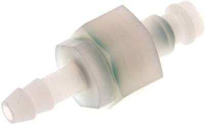 Kupplungsstecker (NW5) 6 (innen) mm Schlauch, PVDF