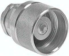 Hydraulik-Schraubkupplung, Stecker Baugr.6, 18 L