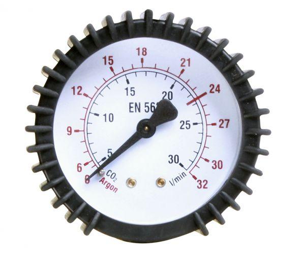 Schweißkraft 1700058 Durchflussmanometer Ø 63 mm; 0-30 l/min