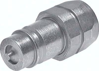 """Steckkupplung ISO7241-1A, Stecker Baugr.1, G 1/4""""(IG)"""