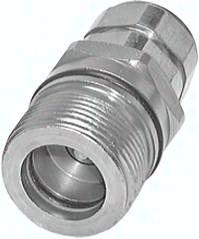 "Hydraulik-Schraubkupplung, Muffe Baugr.8, G 1 1/2""(IG)"