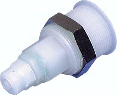 Abreißkupplungsdose (NW5) 6 x 4 (CK-Anschluss) mm Schlauch, POM