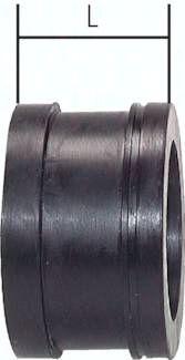 Ersatzdichtung Sandstrahl-kupplung 31,0x44,0x27,0mm