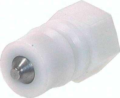 """Kupplung ISO 7241-1B, Stecker, G 1/4""""(IG), POM"""