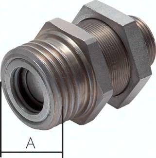 Hydraulik-Rohrleitungskupp-lung, Muffe Baugr.6, 18 L
