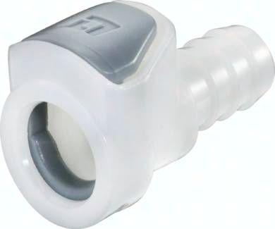 Kupplungsdose (AP) mit Schlauchtülle, POM
